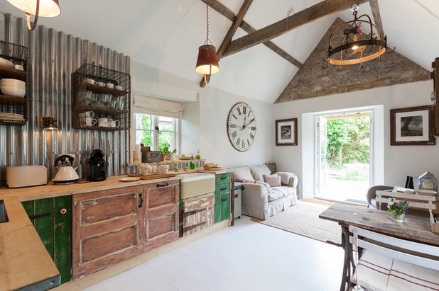 Shabby-Chic-Style Küche by Chris Snook