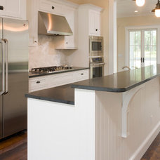 Traditional Kitchen by Shoreline Construction and Development