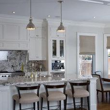Traditional Kitchen by Carey Mudford Interior Design