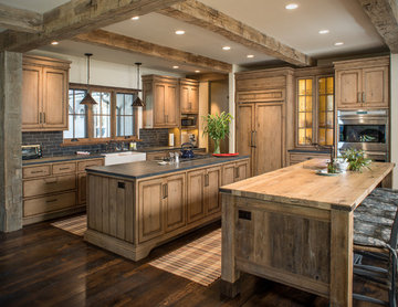 The Kitchen at Wood River Valley Chalet