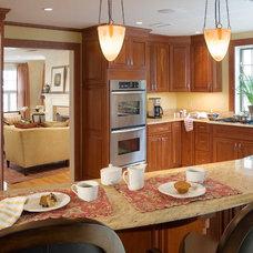 Contemporary Kitchen by Kristen Rivoli Interior Design