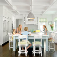 Beach Style Kitchen The Ladue House