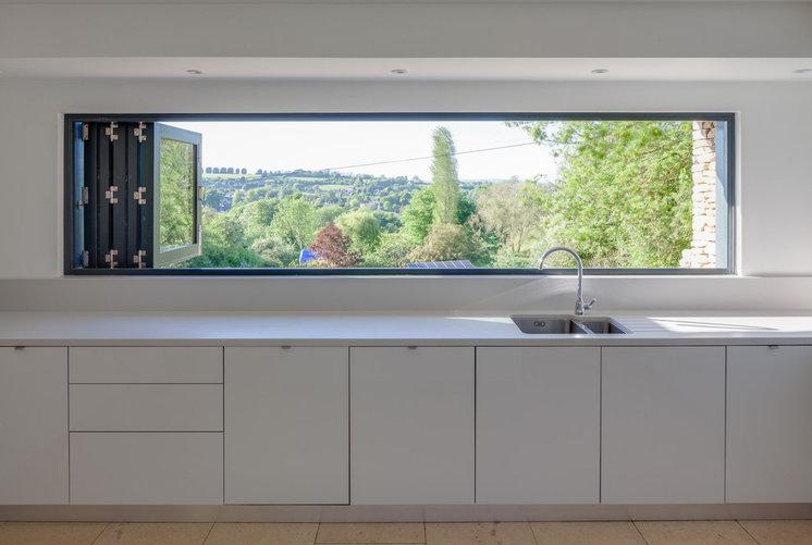 Contemporary Kitchen by Millar Howard Workshop