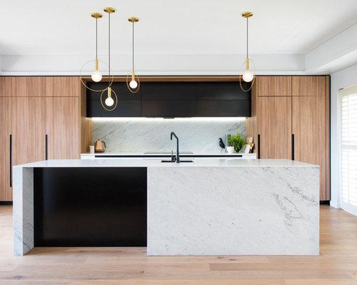 Küchen mit hellen Holzschränken in Sydney Ideen, Design & Bilder | Houzz