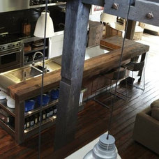 Industrial Kitchen by Wagner Design