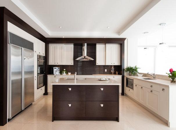 Contemporary Kitchen by Tendances Concept