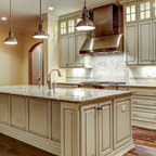 Glamorous Four Square - Traditional - Kitchen - Portland - by Jessica Helgerson Interior Design