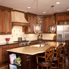traditional kitchen by J&K Custom Homes