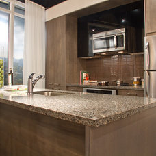 Modern  by AyA Kitchens and Baths