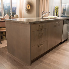 Modern Kitchen Cabinetry by AyA Kitchens and Baths