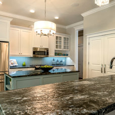 Contemporary Kitchen by Emerald Ventures, Inc.