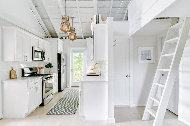 Beach Style Kitchen by Blakely Interior Design