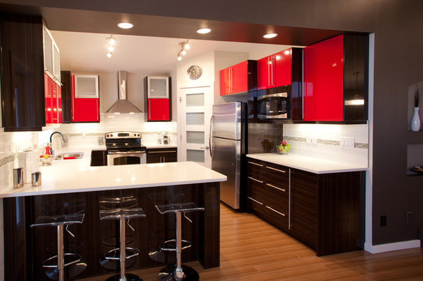 Contemporary Kitchen by Galko Homes
