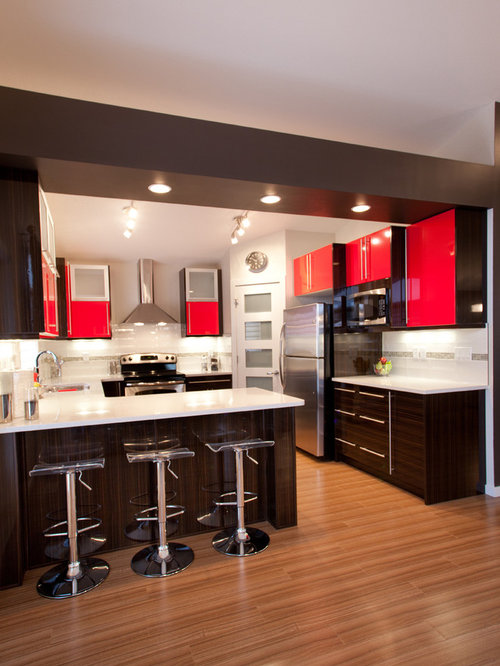 White Kitchen Laminate Flooring kitchen laminate floors | houzz