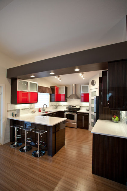 modern kitchen by Galko Homes