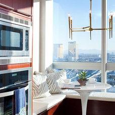 Contemporary Kitchen by Nadia Geller Designs