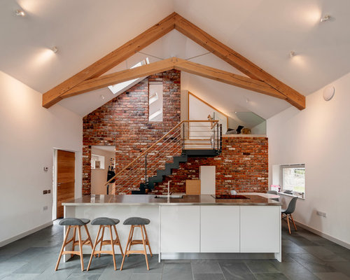 Scissor Stair Home Design Ideas, Pictures, Remodel and Decor