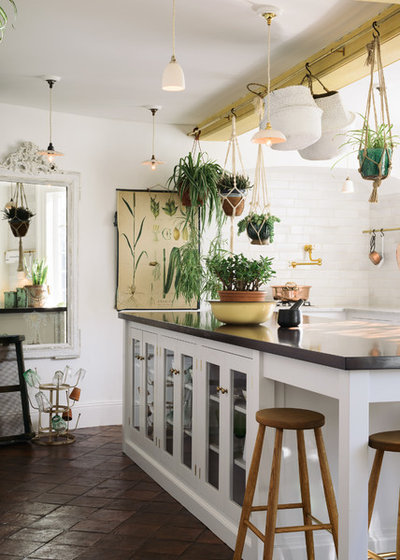 Shabby-chic Style Kitchen by deVOL Kitchens