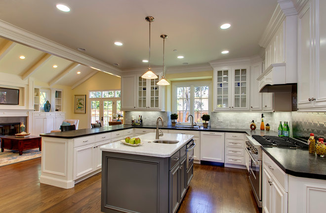 Traditional Kitchen by The Douglass Company