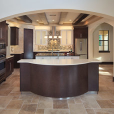 contemporary kitchen by Jorge Ulibarri Custom Homes
