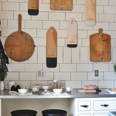 Eclectic Kitchen by Janet Paik