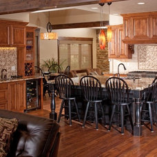 Traditional Kitchen by Rentfrow Design, LLC