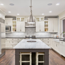 Traditional Kitchen by Axiom Luxury Homes