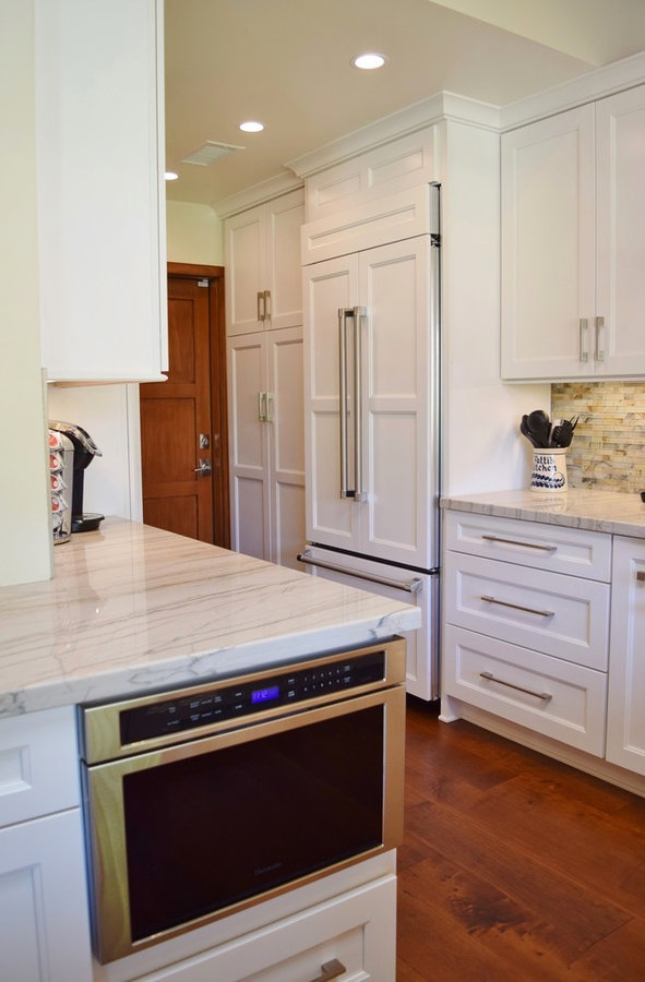 The Nash Craftsman/Transitional Kitchen and Family Room Remodel-Studio City, Ca.