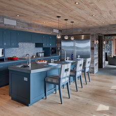 Rustic Kitchen by Hutker Architects