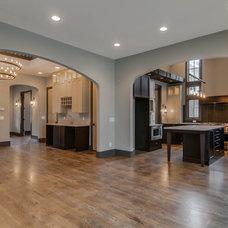 Transitional Kitchen by Dream Build Nashville