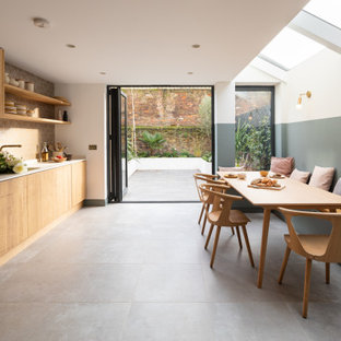 Inspiration for a scandinavian kitchen in London.