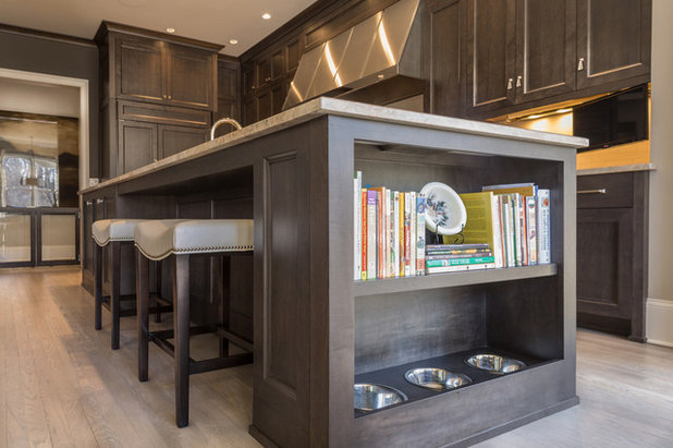 Transitional Kitchen by Pineapple House Interior Design