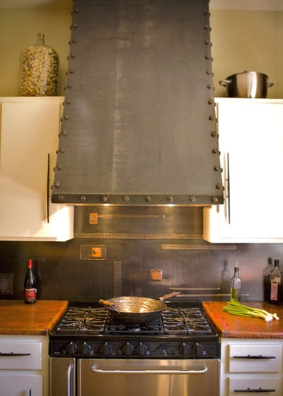Contemporary Kitchen by Oak Hill Iron