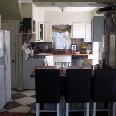 Traditional Kitchen by The Painted Home