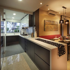 Eclectic Kitchen by The Interior Place (S) Pte Ltd