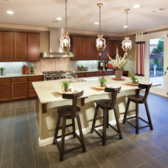 contemporary kitchen by Meritage Homes