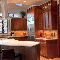 Transitional Kitchen by E3 Cabinets & Design