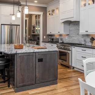 Beau Craftsman Kitchen Appliance   Inspiration For A Craftsman Kitchen Remodel  In Other