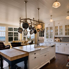 Beach Style Kitchen by Mitch Wise Design,Inc.