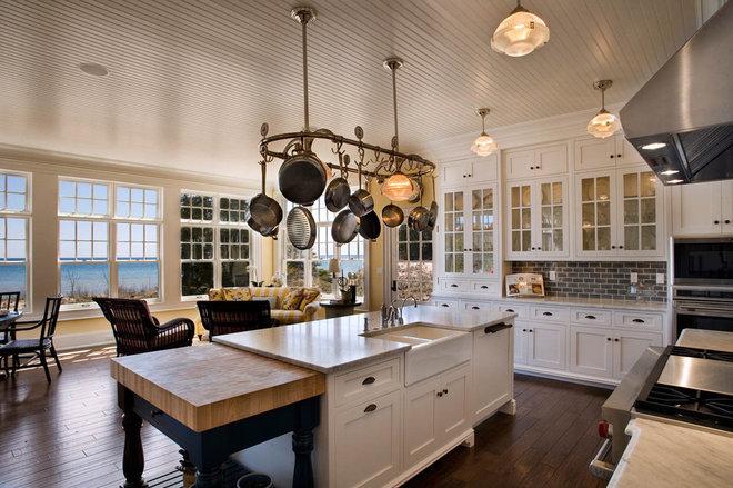 Beach Style Kitchen by Mitch Wise Design,Inc.
