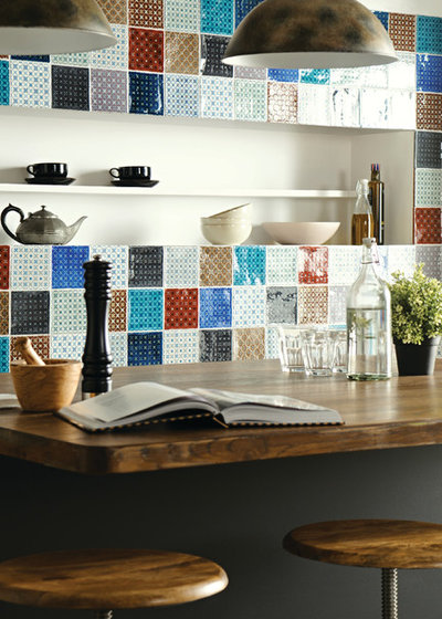 Rustic Kitchen by The Winchester Tile Company