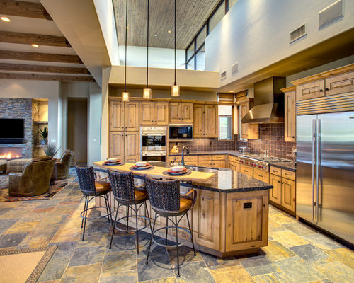 Southwestern kitchen design ideas remodel pictures houzz for Southwestern kitchen designs