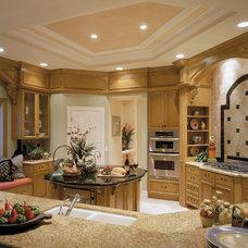 Mediterranean Kitchen by Wyman Stokes Builder LLC