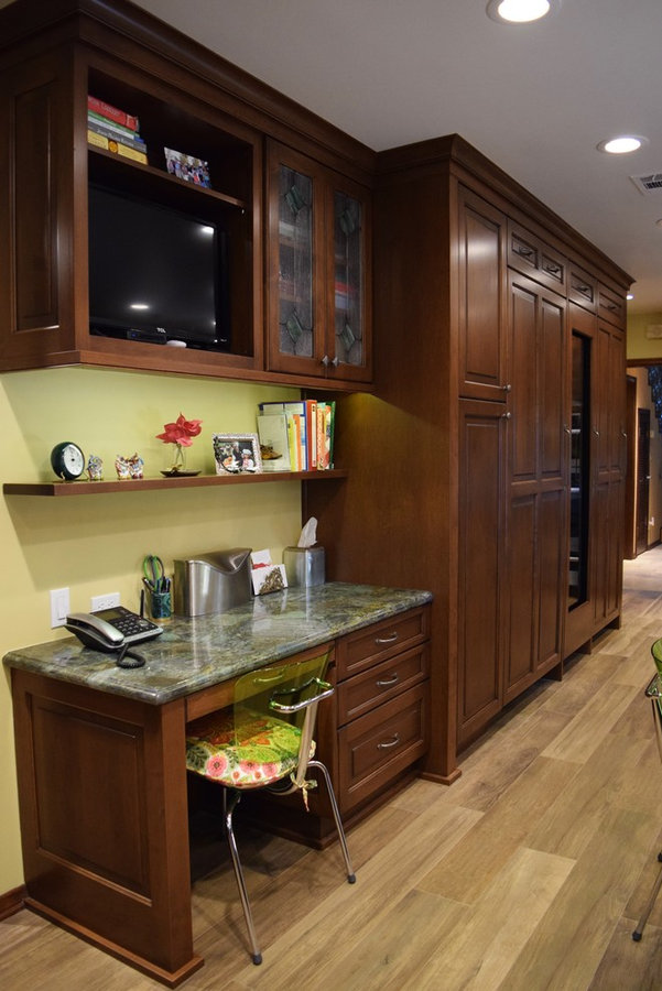 The Rubin Traditional Kitchen Remodel in Encino, Ca.