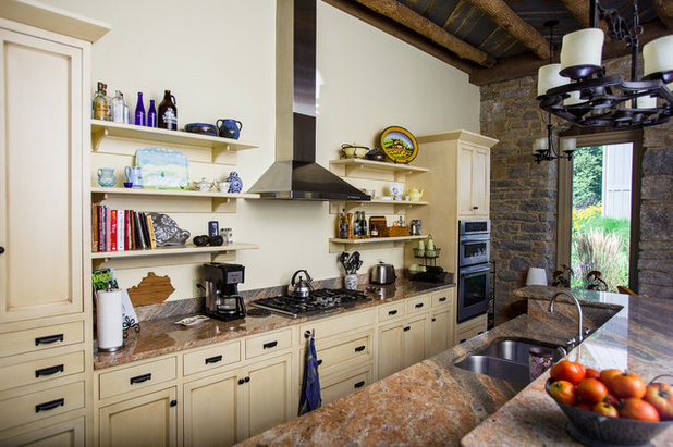 Inspirational Rustic Kitchen by Wilmes u Associates Architects