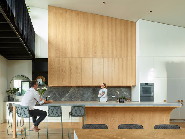 Contemporary Kitchen by Graya Construction
