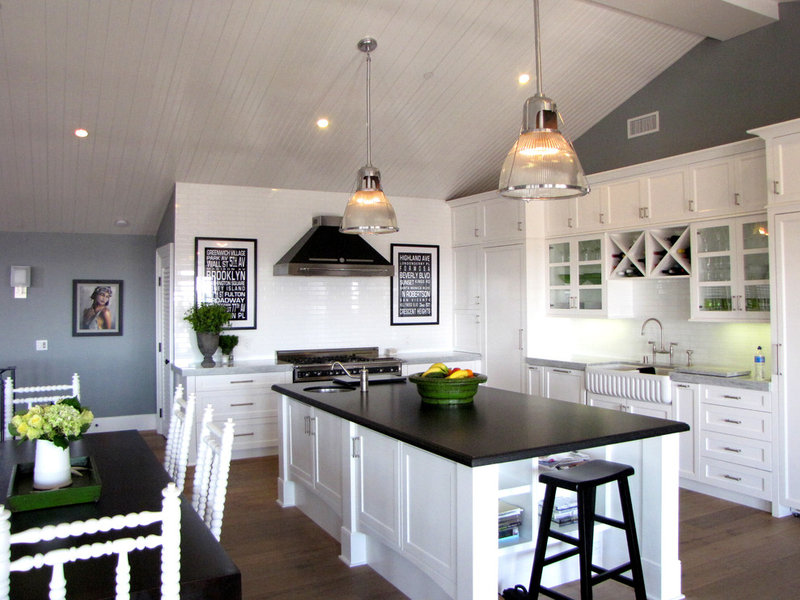 Beach Style Kitchen by Tara Bussema - Neat Organization and Design