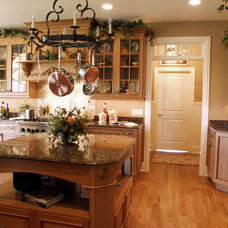 Traditional Kitchen by John Hall Homes