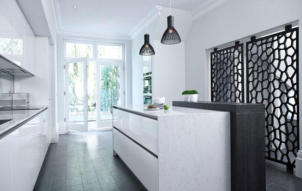 Conseils de pro pour s parer la cuisine du salon de fa on originale - Separation entre cuisine et salon ...