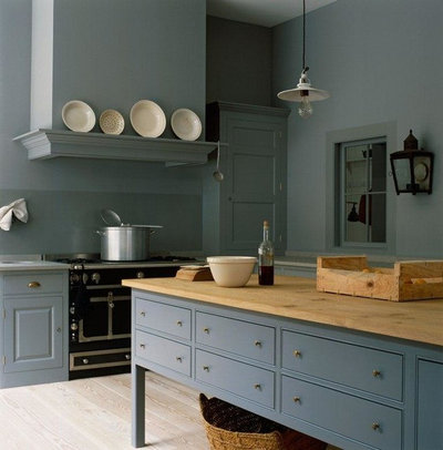 Traditional Kitchen by Plain English